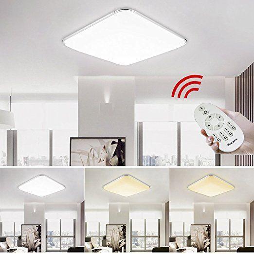 25+ ide terbaik tentang Led deckenleuchte dimmbar di Pinterest - lampe für schlafzimmer