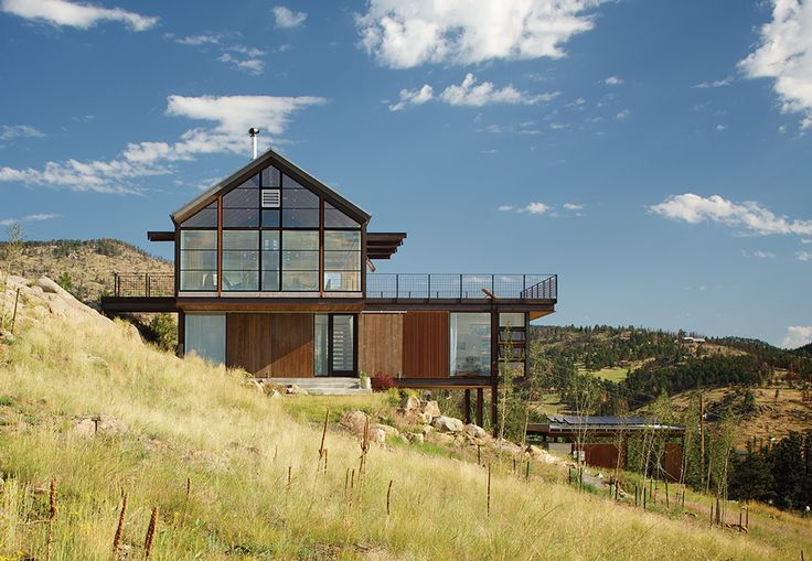 Beautiful A Natural Disaster Cleared A Property In The Colorado Mountains, Giving An  Architect And Her