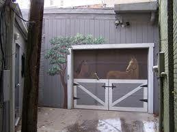 21 best garage door art images on pinterest
