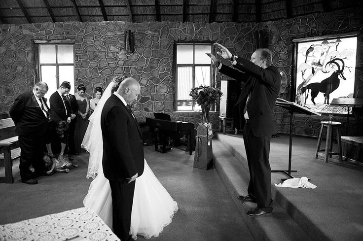 Photos of Andries and Christel's wedding at Kwalata Game Reserve in Dinokeng, just outside of Pretoria.