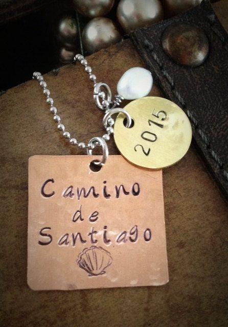 Camino de Santiago Necklace Buen Camino by SimplyYoursByDesign, $25.00
