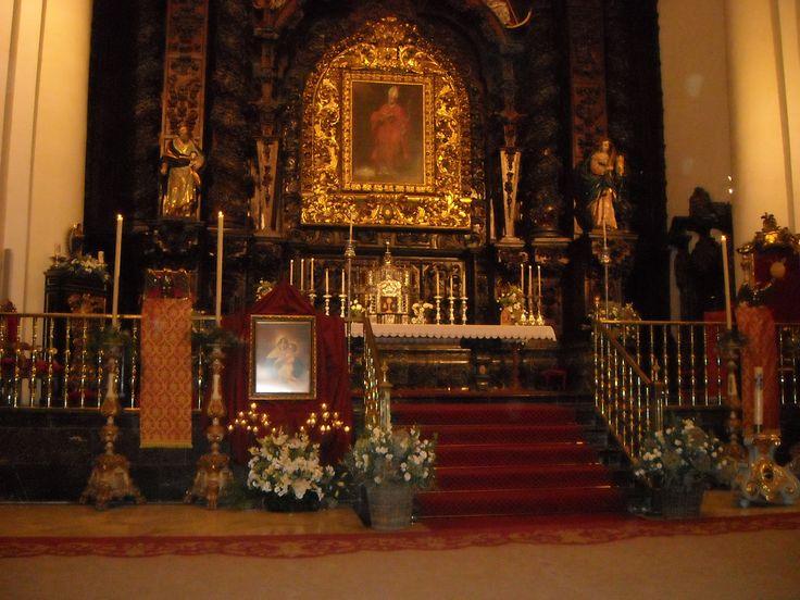 Imagen de la VP de Schoenstatt, en la iglesia de el Salvador y Santo Domingo de Córdoba (España) 2014 11 17