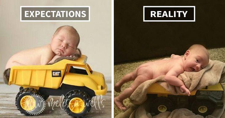 15+ Hilarious Pinterest Baby Photoshoot Fails | Bored Panda