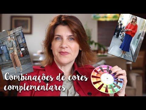 Utilizando o círculo cromático para combinações de cores complementares - YouTube