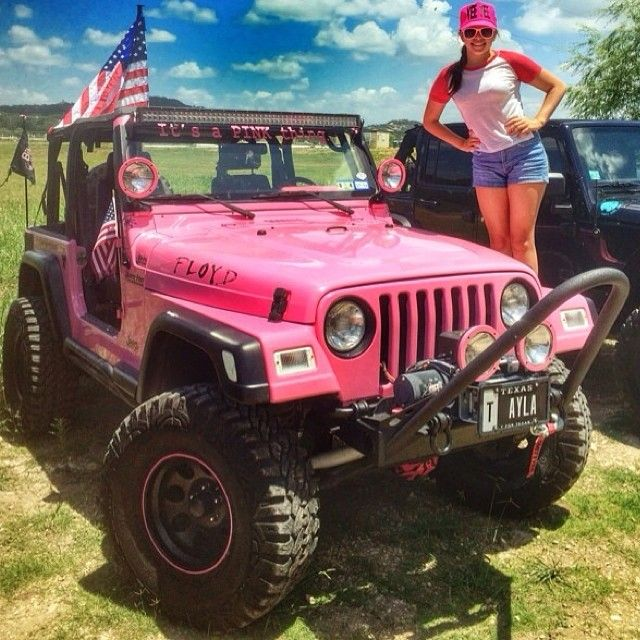 Ayluhbae From Tx 19 My Jeeps Name Is Floyd I Cheer For