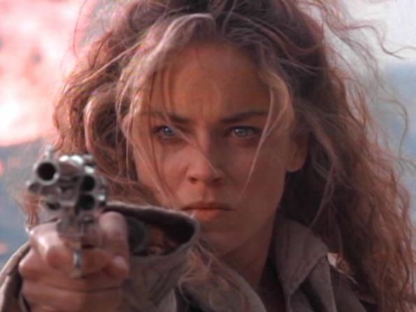 Quick and the Dead (1990) - Showdown with The Lady