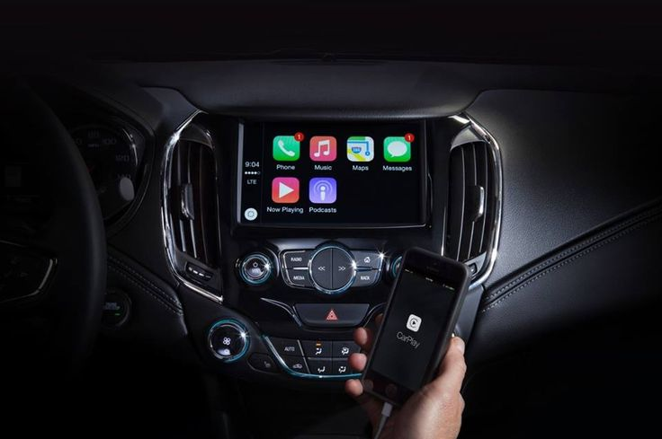 The all-new 2016 #Cruze is providing you with the information you need for the road ahead. #AndroidAuto and Apple #CarPlay have made their #FindNewRoads debut at #CodeCon.