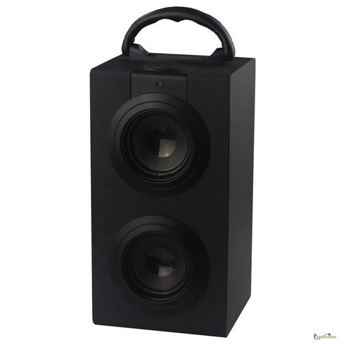 Portable Bluetooth Speaker System USB SD MMC Input FM Radio Rechargeable Batter - 50$