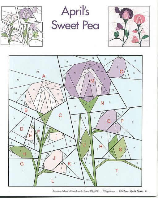 24 Flower Quilt Blocks 11 By Edy Patchwork Via Flickr