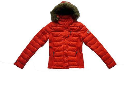 Superdry Womens Fuji Double Zip hood Jacket Red – Moyheeland Traders