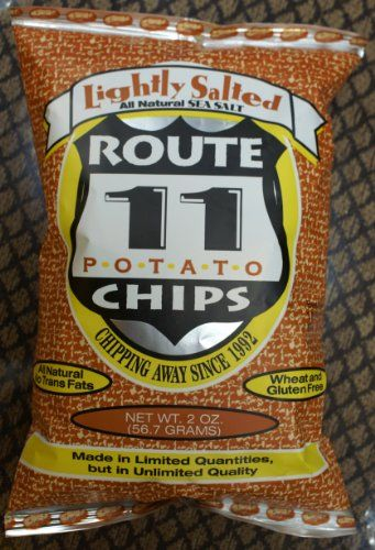 Route 11 Lightly Sea Salted All Natural Potato Chips 6-Pack ( 6 oz. per Pack ) Route 11 Potato Chips http://www.amazon.com/dp/B00C2ZYIWW/ref=cm_sw_r_pi_dp_zjQYvb1NC9P1R