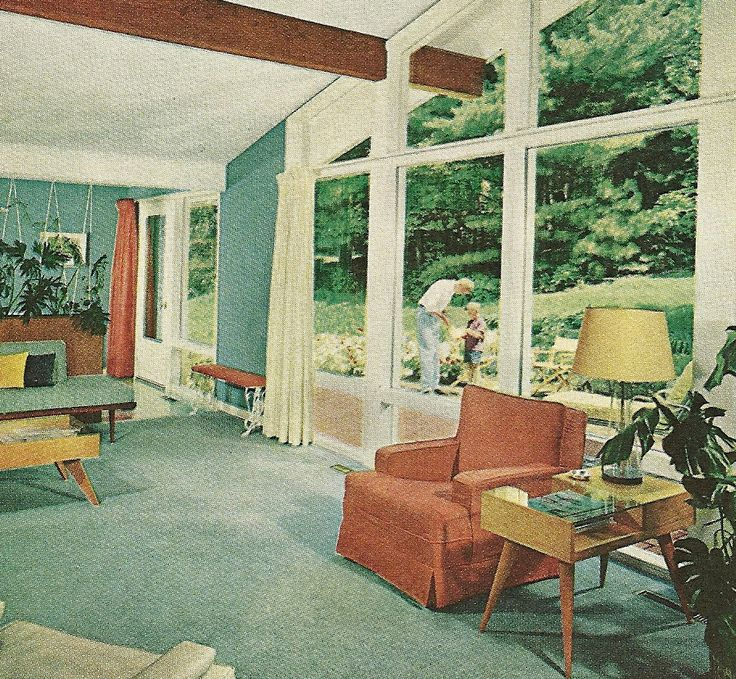 60's Houses'n'Interiors Images On Pinterest