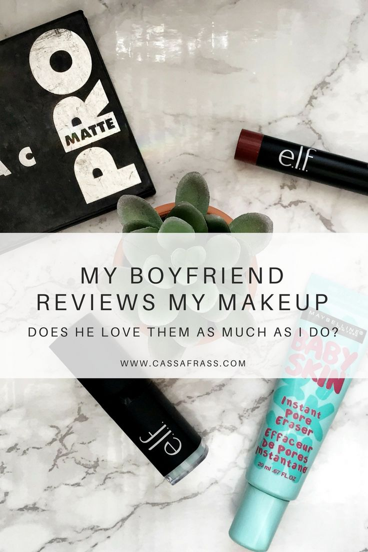 My Boyfriend Reviews My Makeup Products | Elf, Maybelline, and LORAC are reviewed!