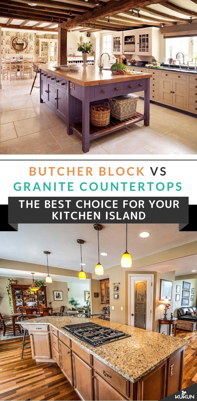 Butcher Block Vs Granite Countertops The Better Choice