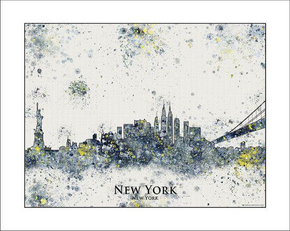 Hey, I found this really awesome Etsy listing at https://www.etsy.com/listing/177595479/new-york-skyline-new-york-city-skyline