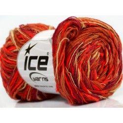Flamme Color fonal piros-narancs-burgundi-barna