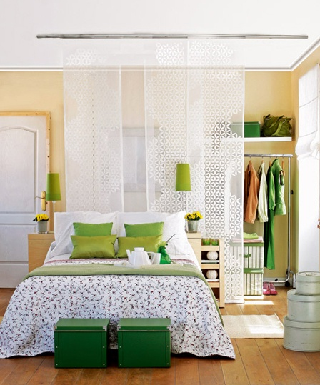 Cortinas habitaciónQuartos Verde, Decora Me, Interiors Inspiration, Decor Ideas, Home, Interiors Design, Home Decor, Ambientes 05, Bedrooms