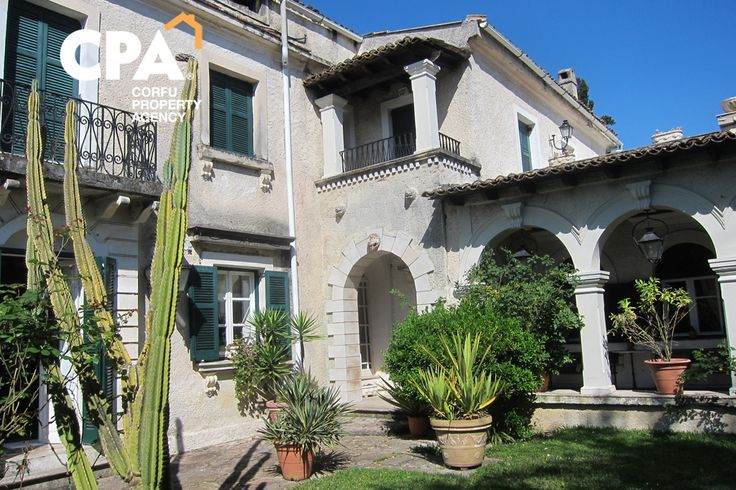 Traditional Corfiot mansionfor for sale in Alepou Corfu-CPA 3635 From: www.cpacorfu.com/en/properties/3635