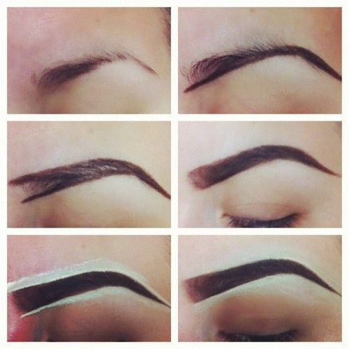trick to getting the perfect eyebrows
