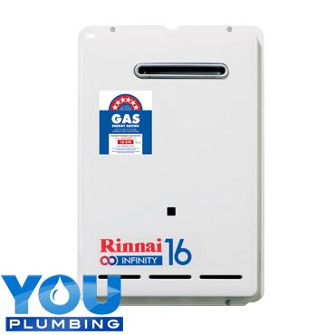 The only 16L continuous flow system on the market: the Compact Rinnai Infinity 16. Ceaselessly provides hot water to your bathrooms. Want one? Ask me now. #Ausralia #YouPlumbing