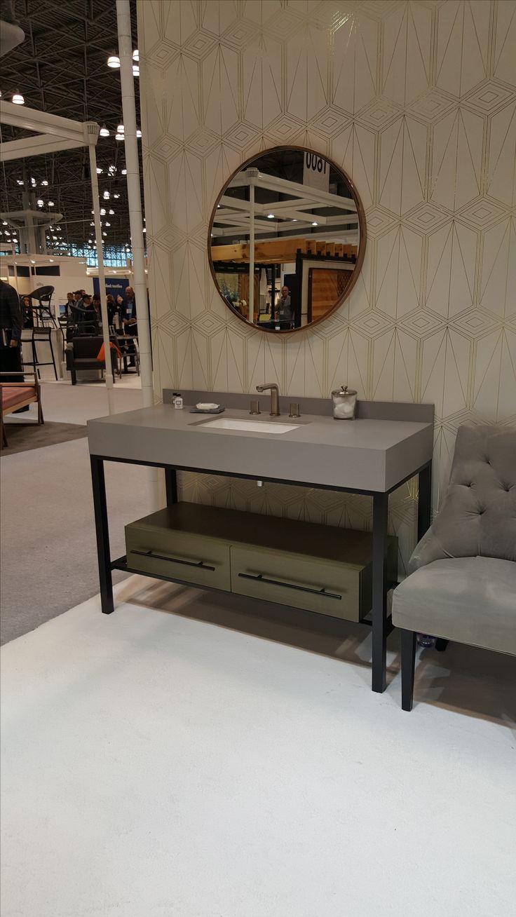 Concrete Top Vanity Desk : Best creation hospitality images on pinterest