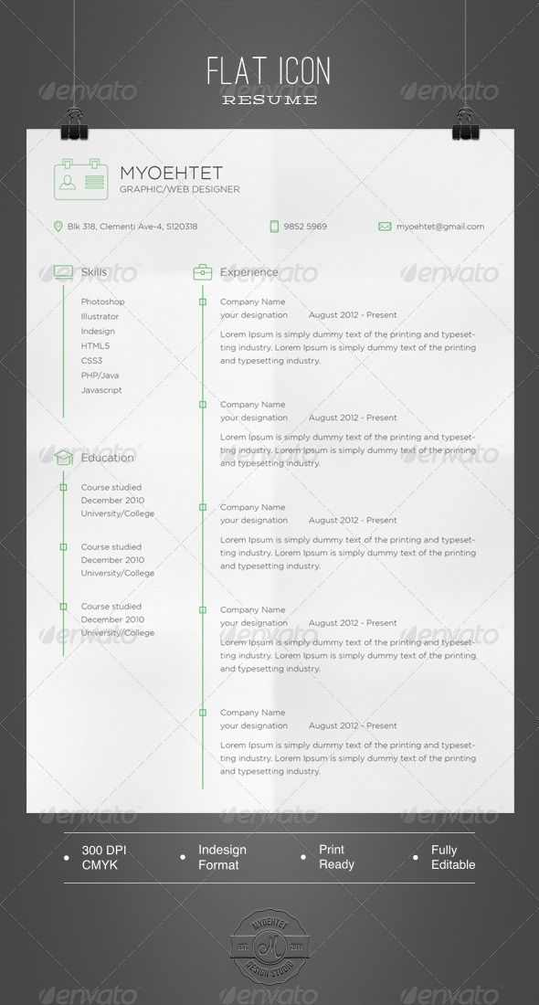 90 best images about resume on pinterest cool resumes behance