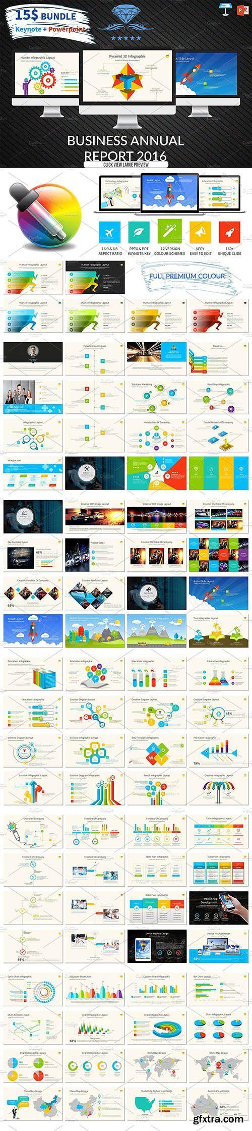 CreativeMarket Premium Bundle 3 IN 1 Template 1131101