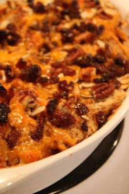 Jeff's Plate: Capirotada - Mexican Bread Pudding
