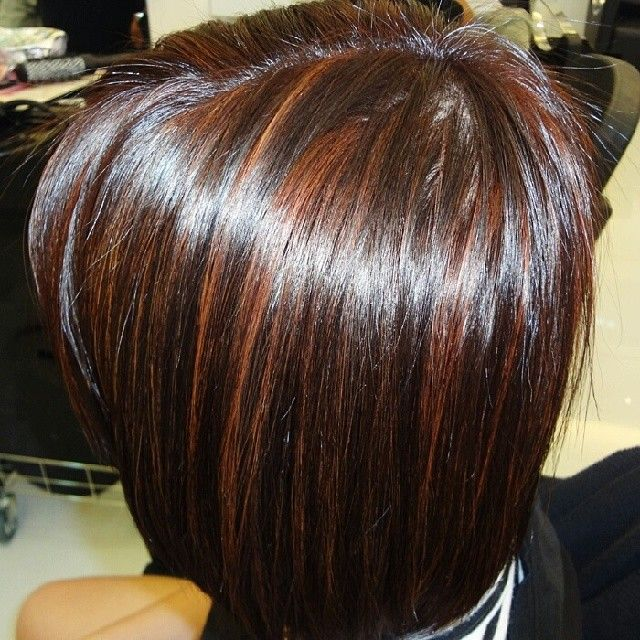Deep Mahogany In Caramel Honey Highlights Hair Styles Hair Highlights Hair