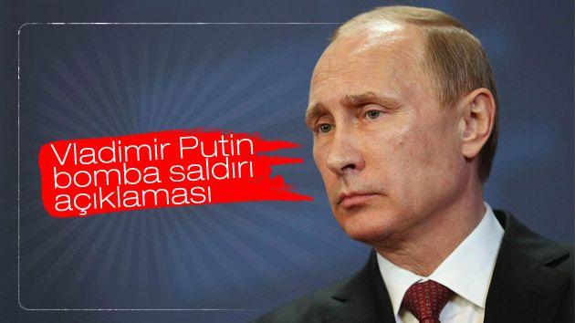 Vladimir Putin bomba saldırı açıklaması  http://www.ilkelihaber.com/vladimir-putin-bomba-saldiri-aciklamasi/
