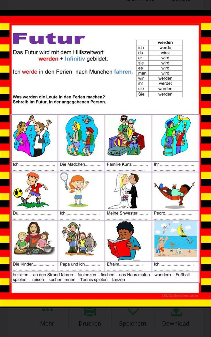 155 best Deutsch images on Pinterest | Elementary schools, German ...