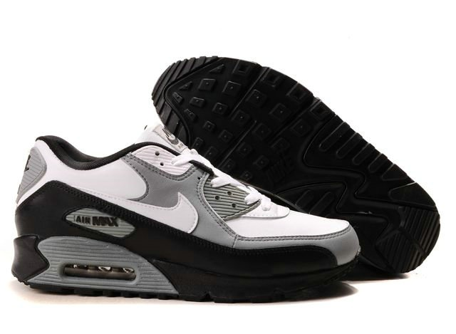 Find Mens Nike Grey Black White Air Max 90 online or in Curryshoes. Shop Top  Brands and the latest styles Mens Nike Grey Black White Air Max 90 at ...