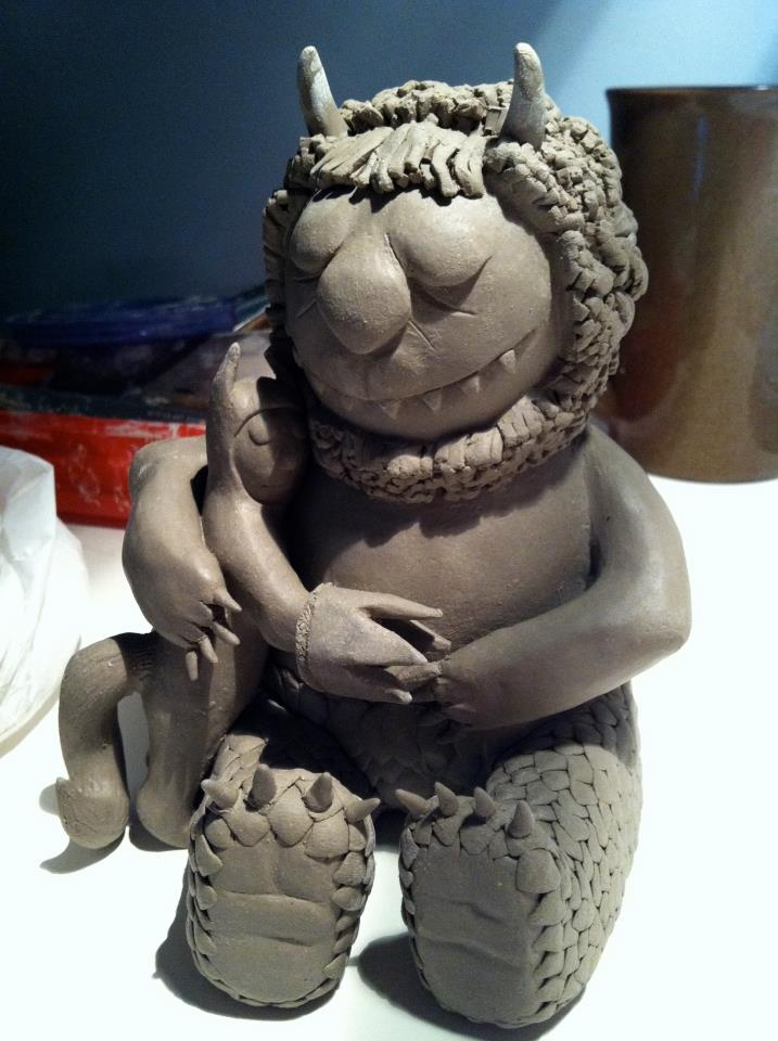 Make A Clay Sculpture of Favorite Children's Book or Cartoon Character? Brainstorming for next year :)