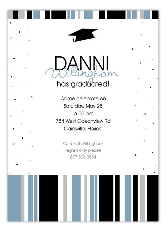 Best Graduation Announcements  Party Invitations Images On