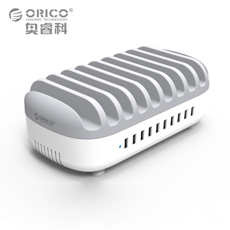 ORICO Powerbus Charging Station 10 Ports 120W 5V2.4A*10 USB Charger Dock with Holder for Phone Tablet PC Apply for Home Public -- AliExpress Affiliate's buyable pin. Click the image to visit www.aliexpress.com