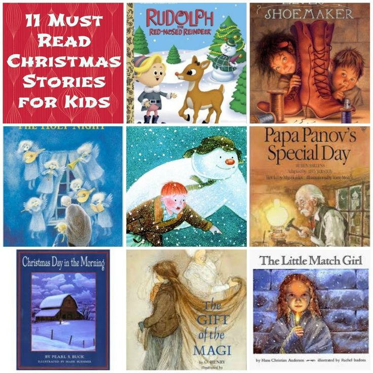 11 Must Read Christmas Stories For Children!  #christmas #stories