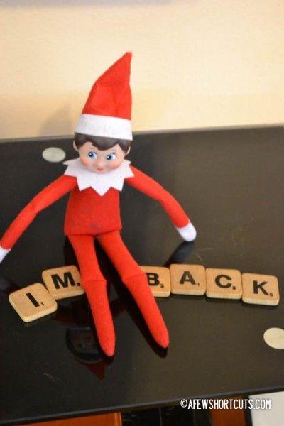 Elf on the Shelf Ideas: I'm Back!