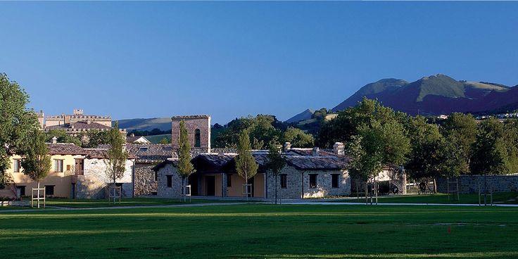 In Italy, near Macerata, Borgo Lanciano - charming Marche.