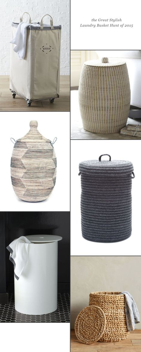 my hunt for a stylish laundry basket // jojotastic.com