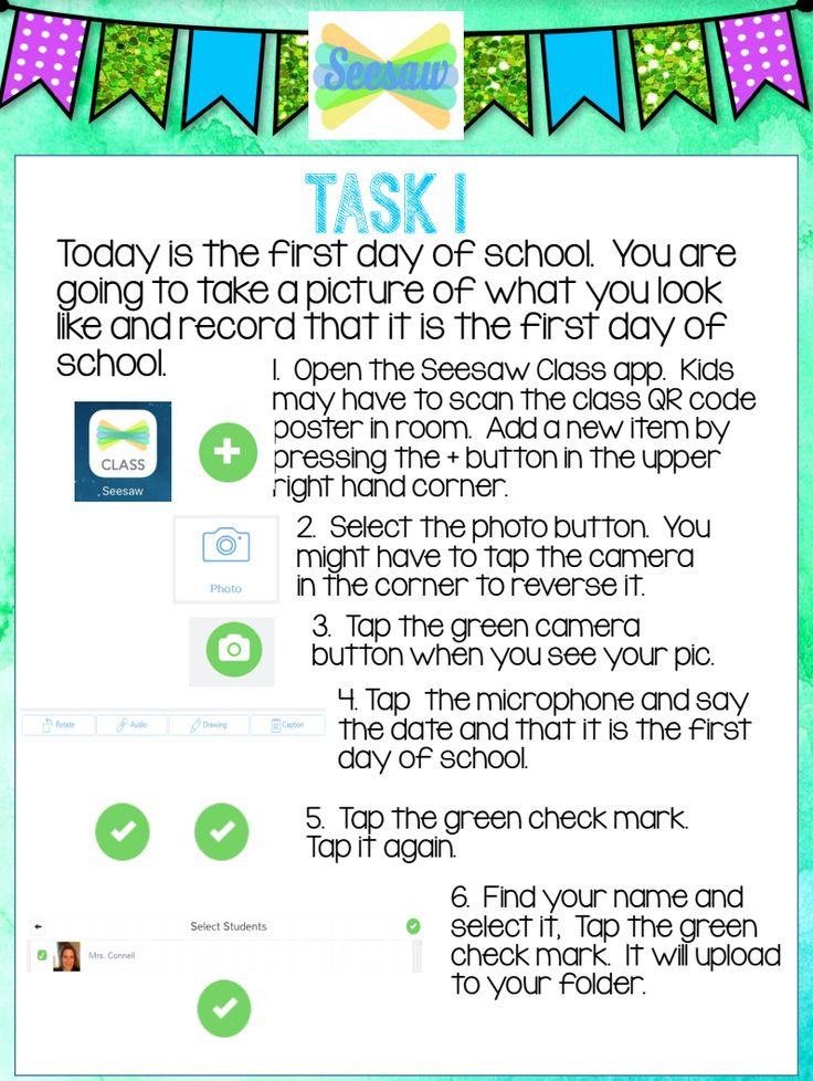 Thanks to Seesaw Ambassador Sara Connell for sharing these task cards! Get the cards!