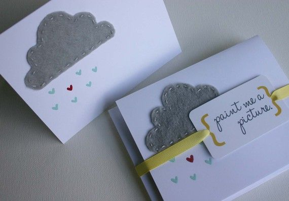 """As a baptism card with the words to """"I like to look for rainbows on the inside"""""""