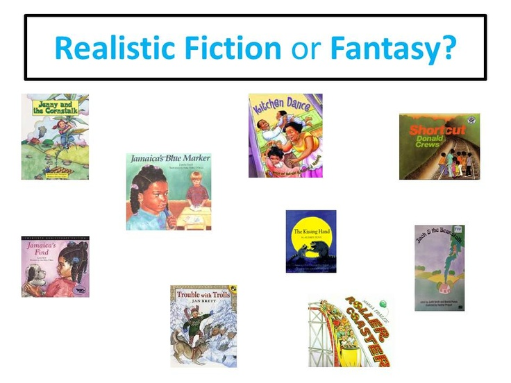 an analysis of childrens literature realistic and fantasy Most novels, both fantasy and nonfantasy, incorporate some elements that  in  light of the frequent use of the term realism in the children's literature field and   la mole, auerbach brilliantly analyses their modern realism, emphasizing the.
