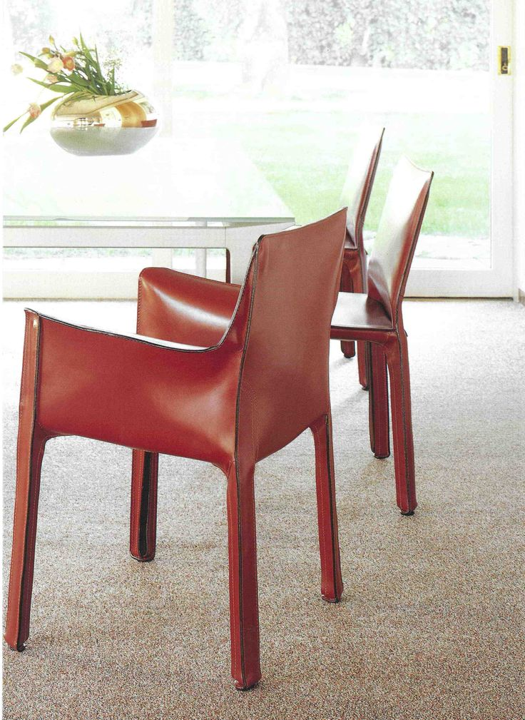 Cab 412 Amp 413 Chair By Mario Bellini For Cassina Www