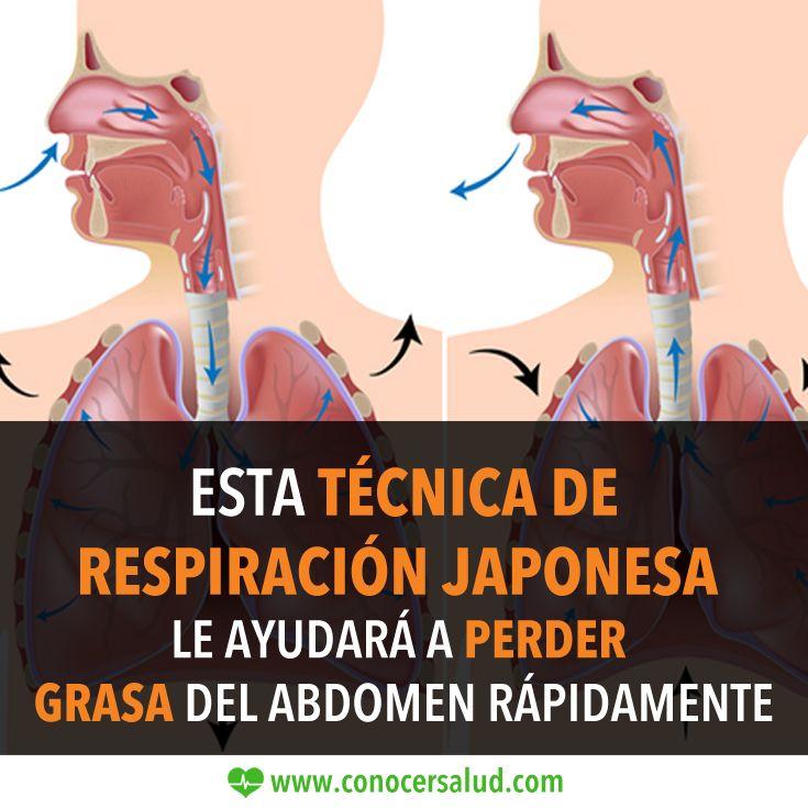 Esta técnica de respiración japonesa le ayudará a perder grasa del abdomen rápidamente #salud
