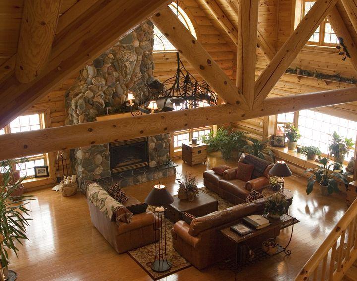 Log Home Interiors Log Home Interior Tourbuzz Decor Home