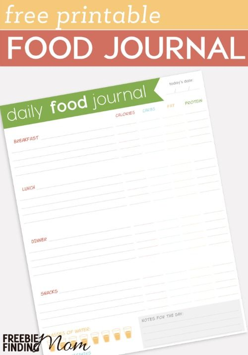 Best  Food Journal Printable Ideas Only On   Meal