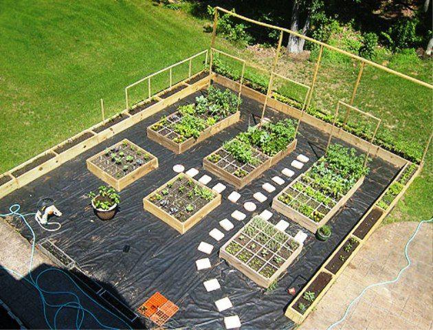 Am nagement jardin potager recherche google jardin - Amenagement d un petit jardin de ville ...