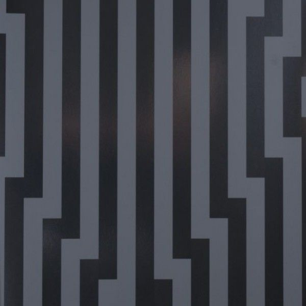 Grafitowa tapeta z geometrycznym wzorem w stylu Art-Deco / The graphite wallpaper with a geometric pattern in the style of Art Deco