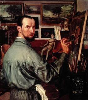 Yakovlev, Alexander : Self Portrait