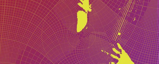 Fotografía de Taller 7 para el músico chileno Rafart, en un afiche de su último EP navideño  Rafart » Get In The Grid – new EP for Christmas 2014